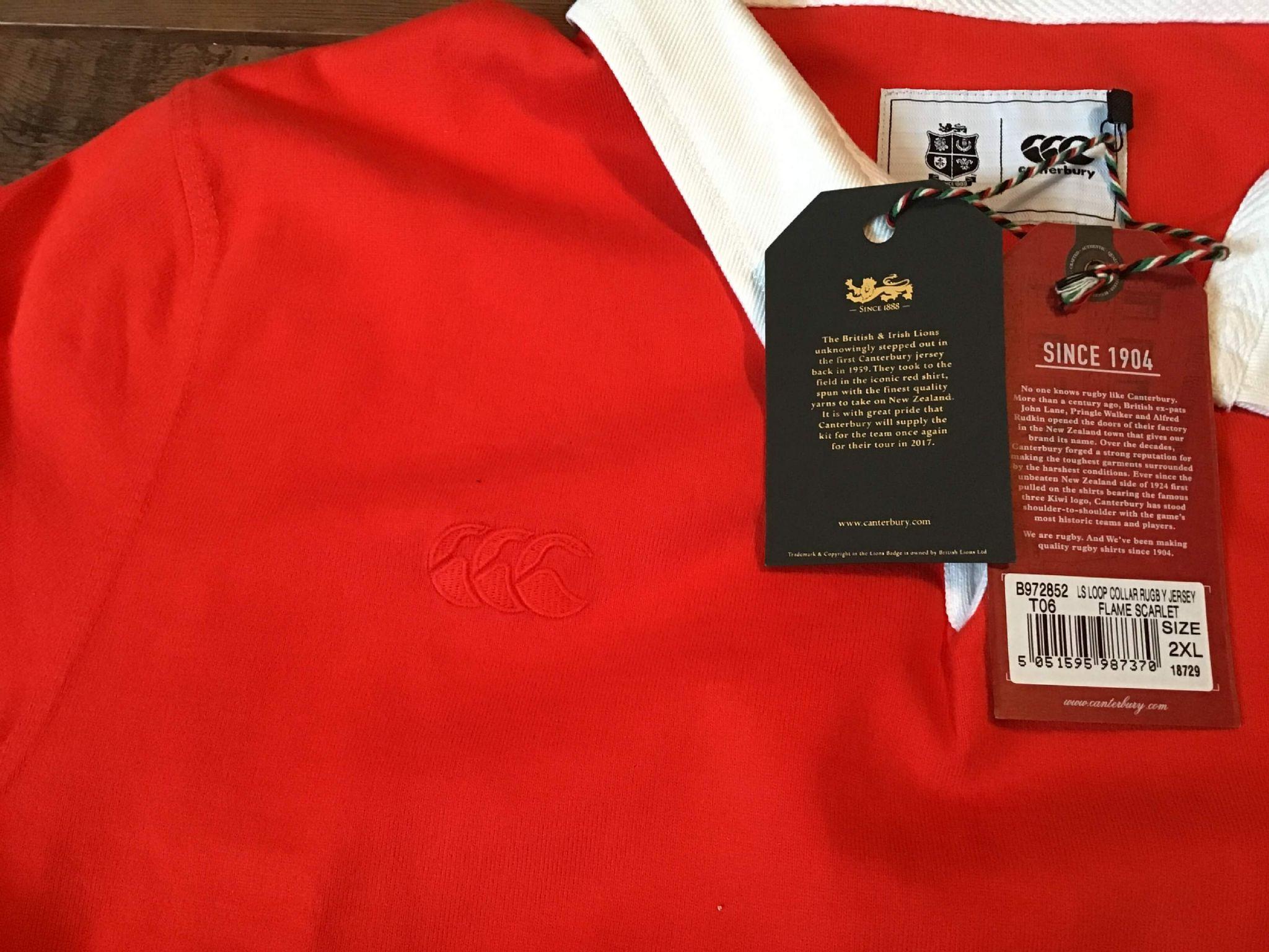 8b8c7c62 Classic Rugby Shirts | 1959 British and Irish Lions Vintage Old Jerseys